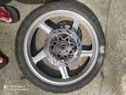 Título do anúncio: Rodas completa pneu zero