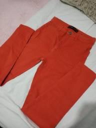 Título do anúncio: Calça skinny laranja