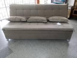 Sofá cama Novo Pronta Entrega