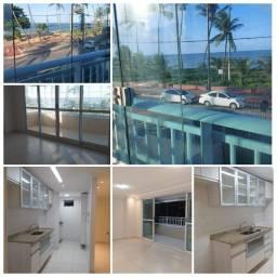 Apt. 2 quartos-Projetados-Varanda-Nascente-Beira Mar do Cabo Branco