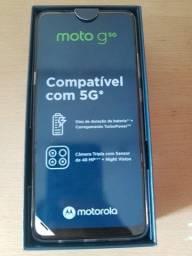 Título do anúncio: Celular Motorola Moto G5g 128\6gb Câm.tripla Tela 6.7- Prata