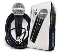 Título do anúncio: Microfone com fio SM 58