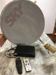 Antena  parabólica skay