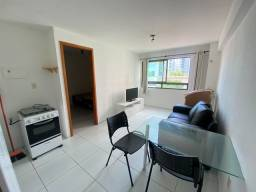 Título do anúncio: Apartamento com 1 quarto para alugar, 35 m² por R$ 1.800/mês - Boa Viagem - Recife/PE