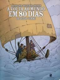 Livro - A Volta ao Mundo Em 80 Dias - Julio Verne; Anne Claire Jouvray; Aude Soleilhac