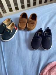Título do anúncio: Vendo esses sapatinhos de bebê calça até 19