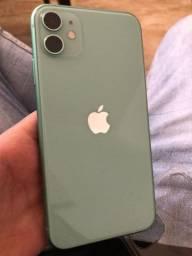 iPhone 11 verde 64 gb extraa