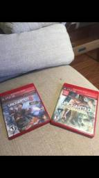 Vendo uncharted ps3