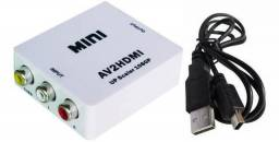 Conversor HDMI para RCA (Frete Grátis)