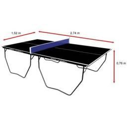 Mesa Ping Pong / Tenis De Mesa Oficial 15mm Black Klopf 1087 black edition preta