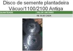 Disco de semente para plantadeira a vácuo 1100 e 2100 John Deere