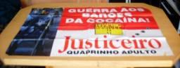 Raridade - Pôster De Banca - Gigante - Justiceiro - Raro