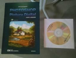 Livro e CD Photoshop Pintura Digital com o mouse