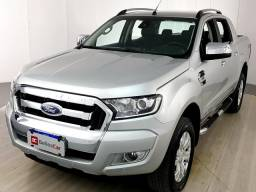 Ford Ranger Limited 3.2 20V 4x4 CD Aut. Dies. - Prata - 2017 - 2017