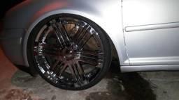 Vendo ou troco roda 20 5x 100