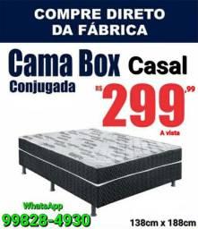 Cama Box 300 Reais a vista #PROMOÇÃO #NOVAS