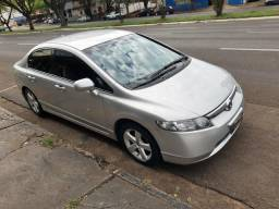 Honda - Civic LXS 1.8 Flex Manual Prata 2008