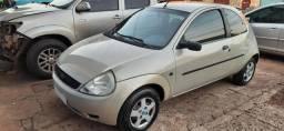 Ford Ká 1.0 Gl 2007 Prata - Conservado - Anápolis