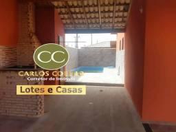 PR cod 399 = casa linda com Terreno De 250M², piscina e área gourmet