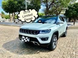 Jeep Compass Limited Diesel 4X4 2018 Extra!!!