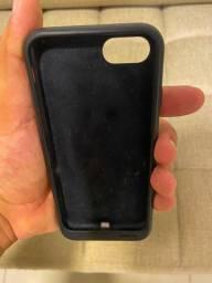 Capa original carregadora iphone 8