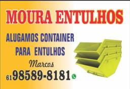 Aluguel de Container (caçamba) para entulhos
