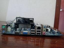 Kit placa mãe 1155 processador e memória ram DDR3