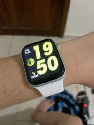 Smartwatch w46 coloca foto tela infinita