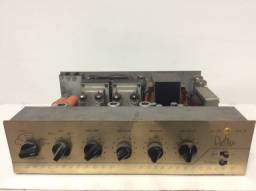 Amplificador antigo valvulado estéreo delta