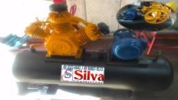 Compressor de ar 40 pés 425 litros Chiaperini - Revisado