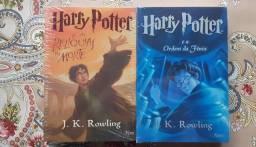 2 Livros da saga Harry Potter
