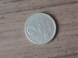 Moeda de Coleção 2 centavos 1969