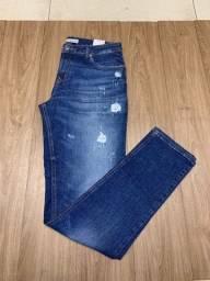 Calças jeans e sarja - multimarcas ( hugo boss, tommy, diesel, levis, ralph e outras)