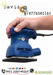 "Lixadeira Treme Treme 1/4 Lixa 450w 110v ""NOVA"""