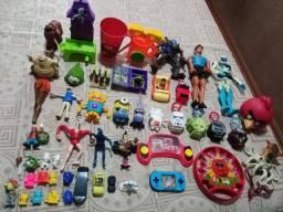 Lote brinquedos diversos meninos