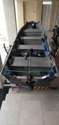 Barco aluminio 5 metros Completo Pety Brasil!!!