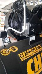 Título do anúncio: Compressor de  Ar 20+APV 250L 5HP 220/380V