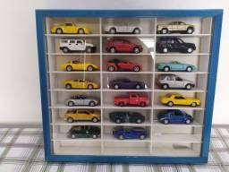 Coleção miniatura de carros