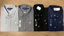 camisas sociais premium- manga longa/curta ( excelente qualidade e preços)