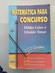 Matemática para Concurso - Hilder Góes e Ubaldo Tonar
