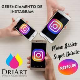 Gerenciamento de Instagram