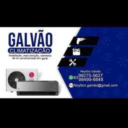 Instalação manutenção conserto de ar condicionado em geral