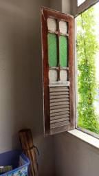 Janelas e porta de demolição década 50/60