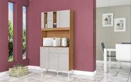 Kit Cozinha R488 6 Portas 0,90 m. Prática e funcional. Promoção!