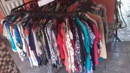 Líquida tudo no Brechó da linda blusas e vestidos só 10 reais cada
