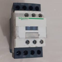 Contator Tetrapolar Schneider 220V Lc1d125 40a Lad4tsdl