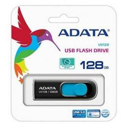 Pen Drive Adata Uv128 128gb Usb 3.2 - Auv128-128g-Rbe