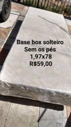 Título do anúncio: Base box solteiro ( sem os pés)
