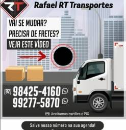 FRETE MUDANÇAS caminhão baú FRETE FRETE FRETE 3/4 ?????