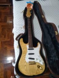 Guitarra Tagima T735 stratocaster Gold Ash caps Cabrera Texas custom #somente venda#
